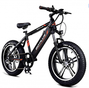 Goplus 20 inch fat tire Electric Mountain Bike Bicycle E-Bike