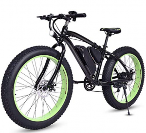 Goplus 26 Inch Electric Bike E-Bike Mountain Beach Snow Bicycle Fat Tire Bike