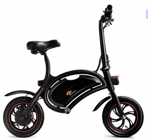 Goplus Folding Electric Bike 350W Lightweight E-Bike Mini Electric Bicycle
